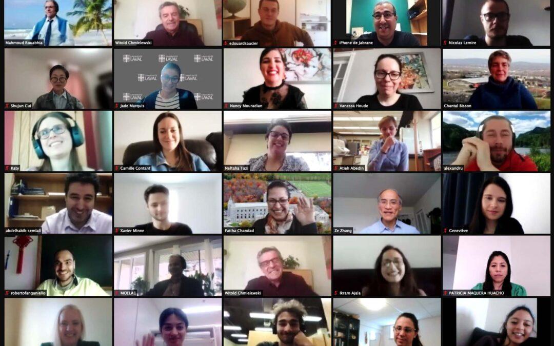 13e Journée de la recherche; riche et diversifiée!